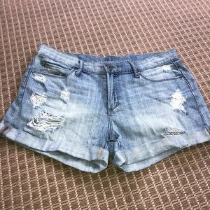 Nordstrom relaxed fit jean shorts!
